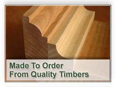 Made to order timber doors